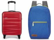 Mega Travel Store - Up To 70% Off On Luggage And Backpacks Rs. 245