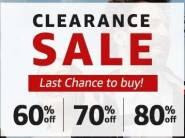 Big Discount On Top Brands 60% - 80% Off + 10% Via Hdfc Payzapp !!