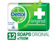 Dettol Original Soap 75g (pack Of 12) At Rs. 324 + Free Shipping