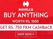 Half Discount Sale: Get Flat Rs. 750 Fkm Cashback On Havells