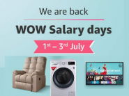Last Day Wow Salary Days : Up To 60% Off On Top Products + 10% Hdfc Off