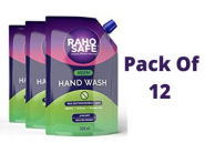 Raho Safe Hand Wash [ Pack Of 12 ] At Rs. 50 Each 6 Liters