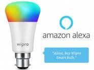 Alexa Exclusive Incentive - Wipro 9w Smart Bulb For Rs. 399