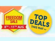Amazon Freedom Sale : Up To 90% Off + Extra 10% Via Sbi Cards