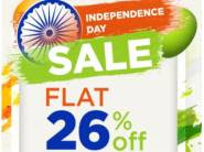 48 Hours Sale : Flat 26% Off + 15% Code + Extra Rs. 500 Cashback